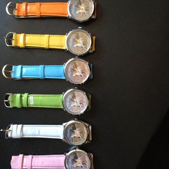 Montre bracelet couleur