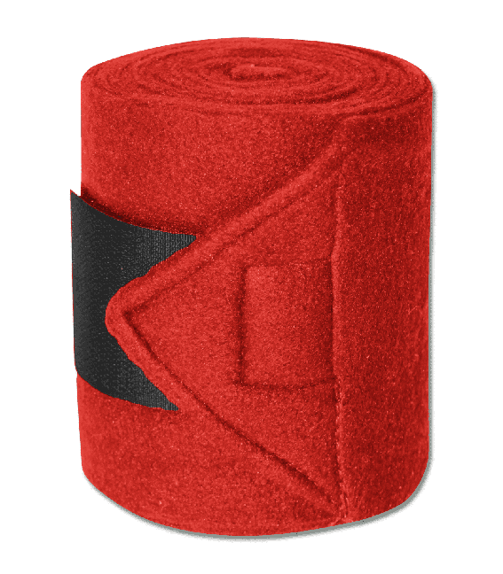 Bandes polaire rouge